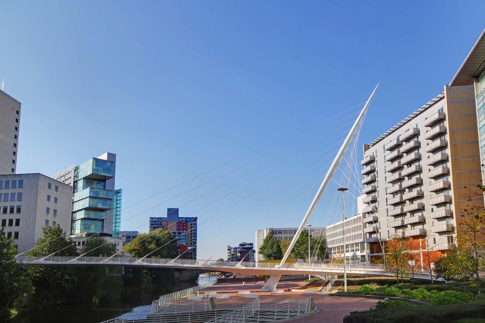 Calatrave bridge manchester