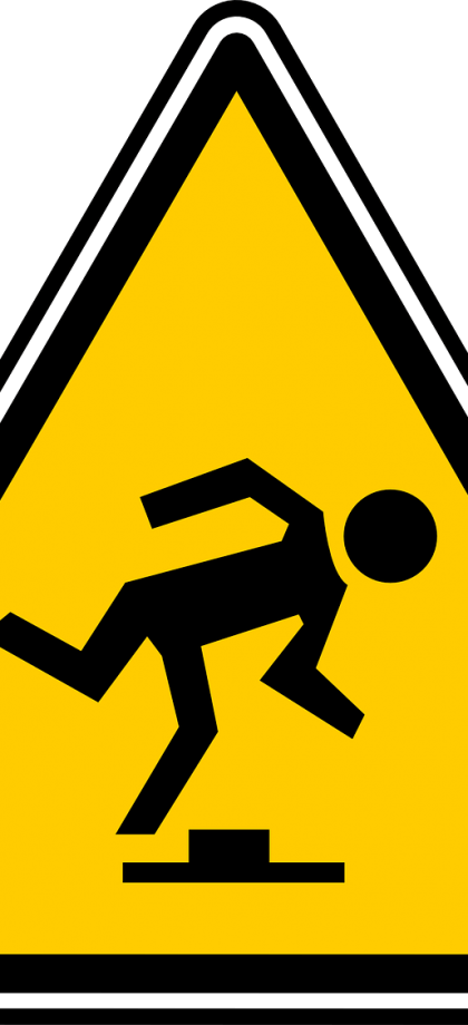 Dealing with slips, trips & falls article preview image